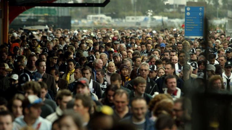 Melbourne is experiencing unprecedented population growth.