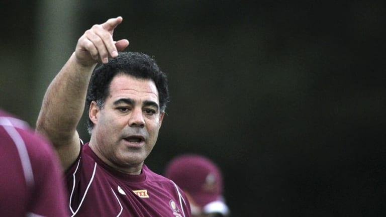 Facing legal action ... Queensland coach Mal Meninga.