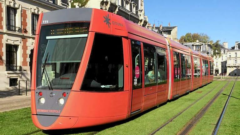 Wireless tram lines have been installed in Bordeaux and Reims in France.
