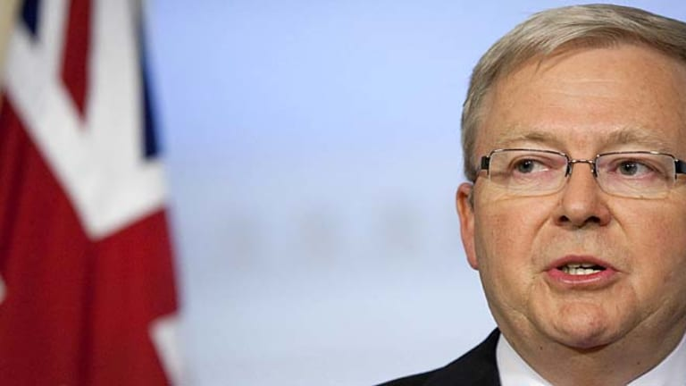 A long time in politics ... Kevin Rudd has revealed he has learned from his removal as Prime Minister.