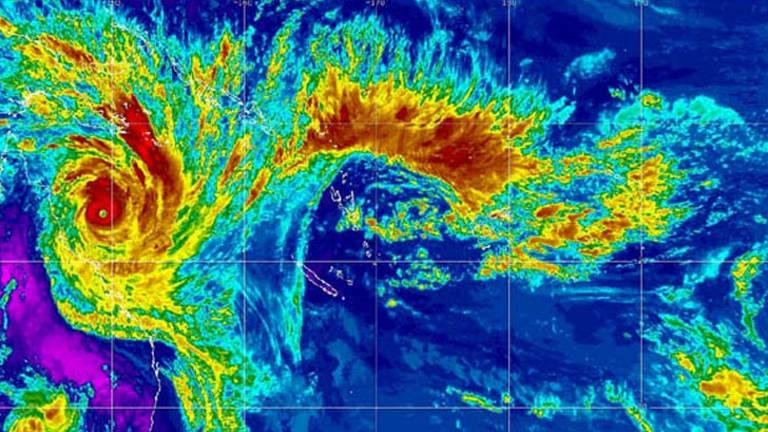 Cyclone Yasi in 2011.