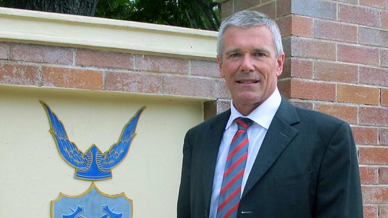 Churchie principal Jonathan Hensman.