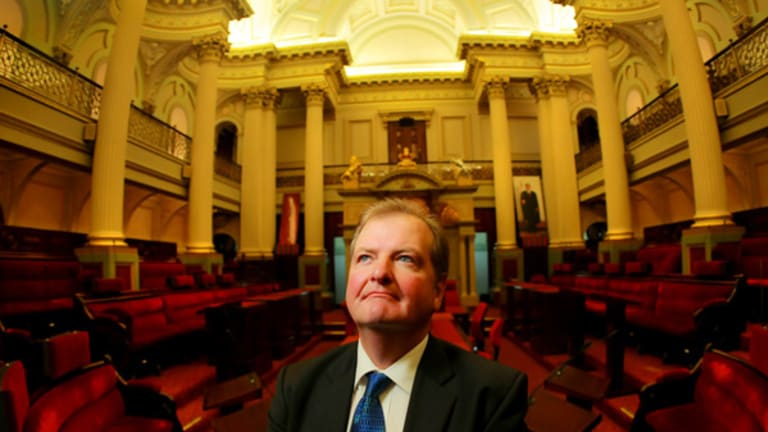 Peter Kavanagh has had the deciding vote in more than 20 upper house matters.