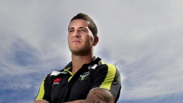 Thompson joined the Dragons this season on a three-year contract worth a reported $1.2 million after spending his first six years in the NRL with the Raiders.