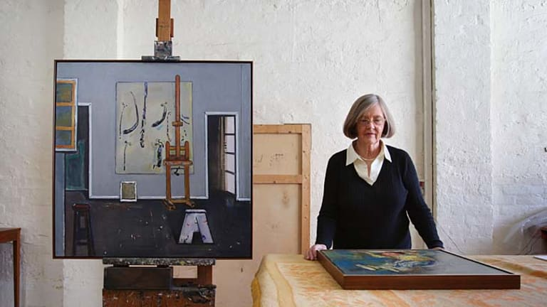 The Studio and other unseen works by Fred Williams, stored in a Melbourne location by his widow Lyn Williams, will feature in a retrospective.