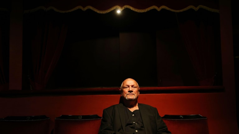 Steven Berkoff (pictured) has championed John Shand's work every step of the way.