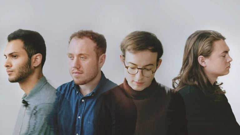 Pedal power: Bombay Bicycle Club, (from left) Suren de Saram,  Jamie MacColl, Jack Steadman and Ed Nash, have added  electronica to their sound.