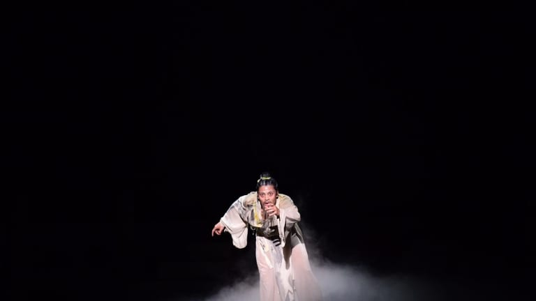 From the stage performance of The Legend of Dunhuang.