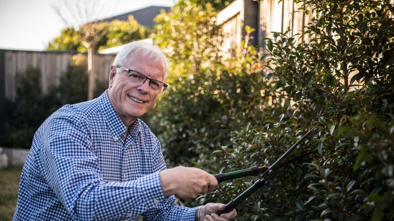 Australians aged 65-74 spend more time gardening than those aged 55-64.