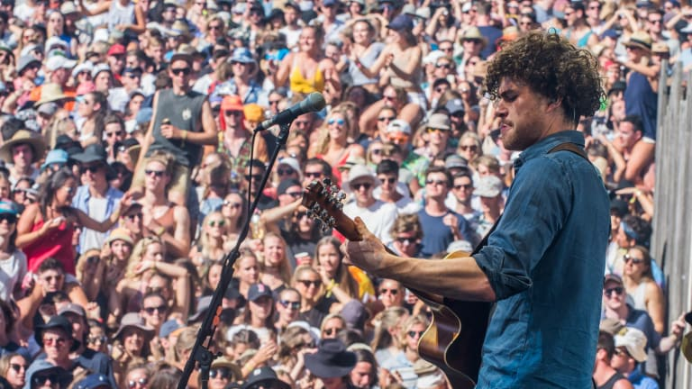 Vance Joy will be making his second Coachella appearance this year.