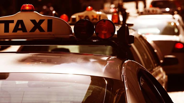 Left behind ... Uber's evolution is showing up the taxi industry.