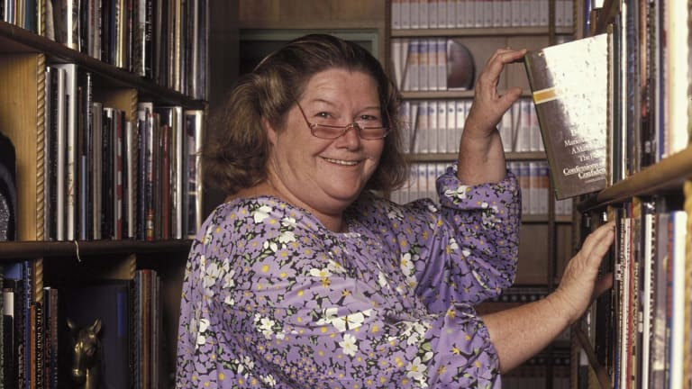 Lots, and lots, of books. Colleen McCullough.