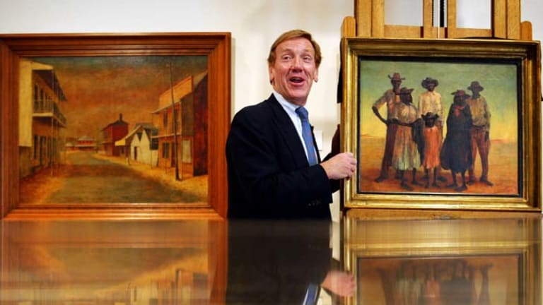 Retiring ... Art Gallery of NSW director Edmund Capon.