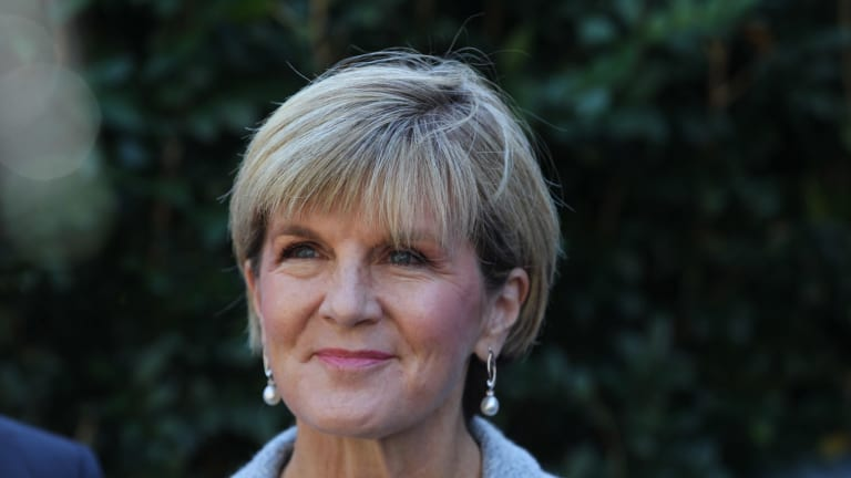 Foreign Affairs Minister Julie Bishop has given her backing to the university course.