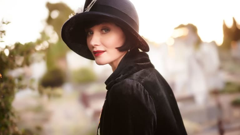 Essie Davis, who stars in the ABC series <i>Miss Fisher's Murder Mysteries</i>, is up for a Gold Logie.