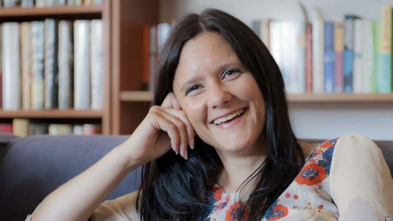 Newport author Jo Case.