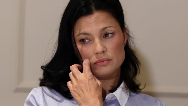 One of Weinstein's latest accusers, actress Natassia Malthe.