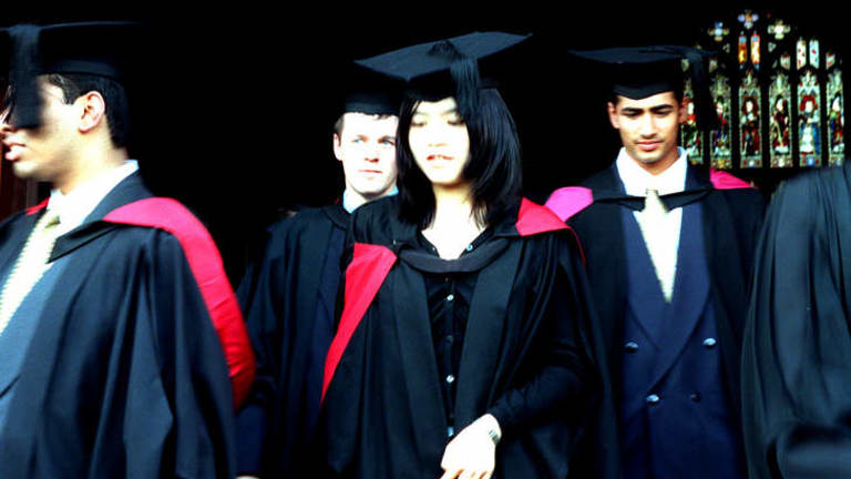 'Unlike skilled workers on a 457 visa, international graduates do not need a firm offer of work.'