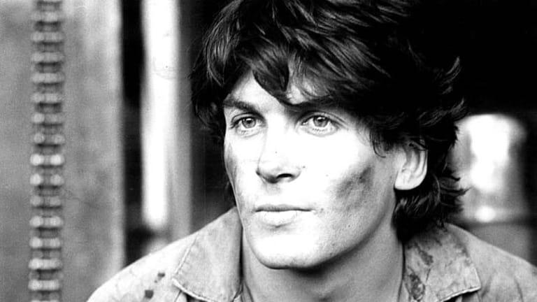 A portrait of actor Jon Blake taken in 1981.