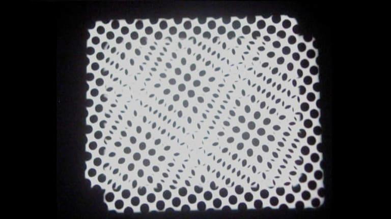 Still from Richard Tuohy's experimental short <i>Dot Matrix</i>.