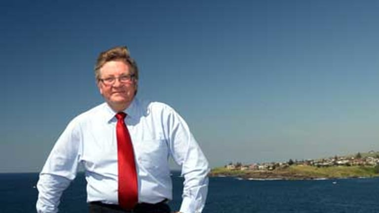 Not a fan of mandatory filter ... Labor candidate for Gilmore, Neil Reilly.