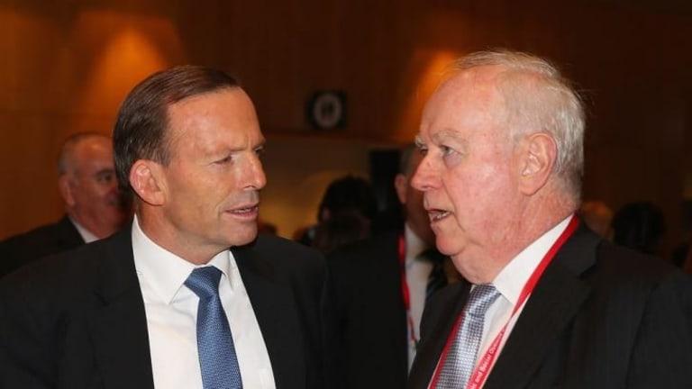 Abbott talks with Paul Kelly, Editor-at-Large of <i>The Australian</i>.