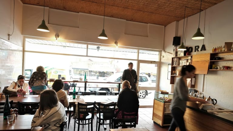 Ora Cafe in Kew: Also excellent is the coffee, house roasted under the Maker label.