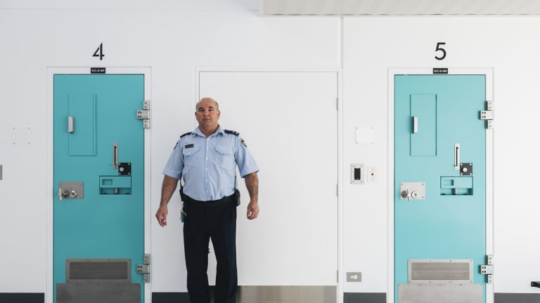 It costs about $120,000 to keep one inmate in custody at the Alexander Maconochie Centre.