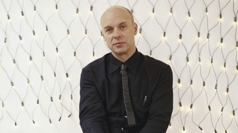Brian Eno the pop star and progressive thinker.