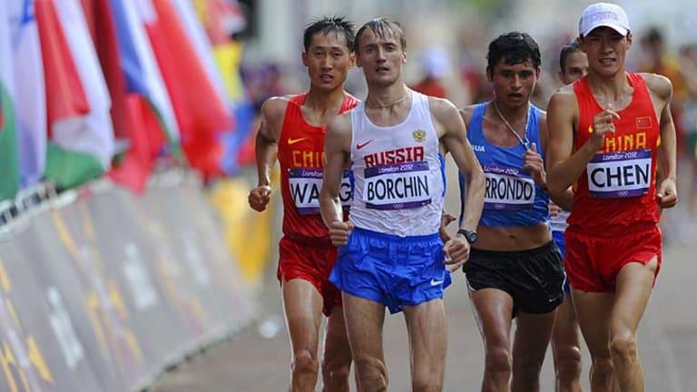 Valeriy Borchin ... lost his Olympic title.