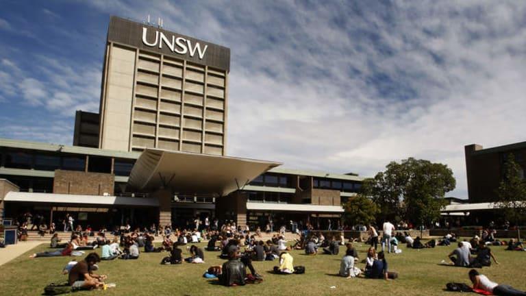 Smoke-free zone:  the University of NSW campus in Kensington.