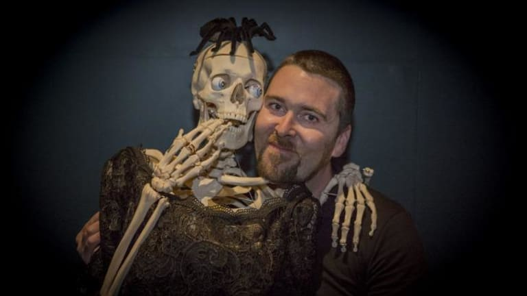 frighteners luke cummins hopes the fear themed night at the museum party at national