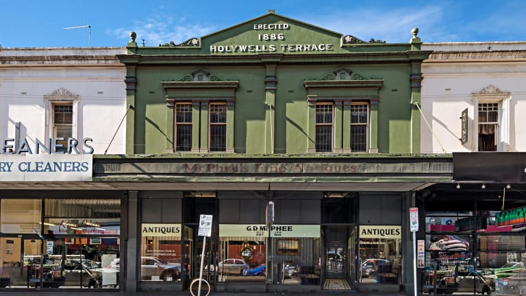 18th Century antiques dealer McPhee's Fine Antiques has put its store at 200-202 Chapel Street on the market with price expectations around $5 million.