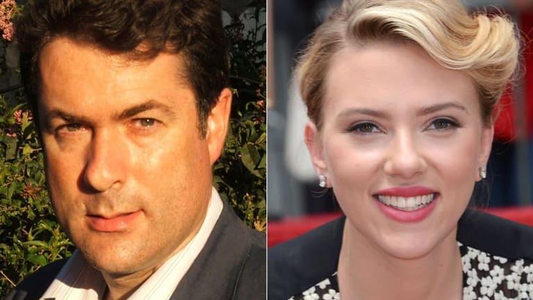 Boycott: Associate Professor Jake Lynch; actress Scarlett Johansson.