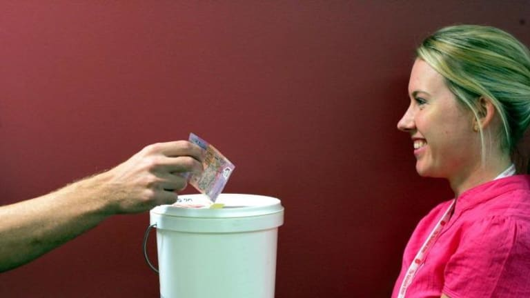 The ALP has turned to a grassroots fundraising campaign ahead of the state election.