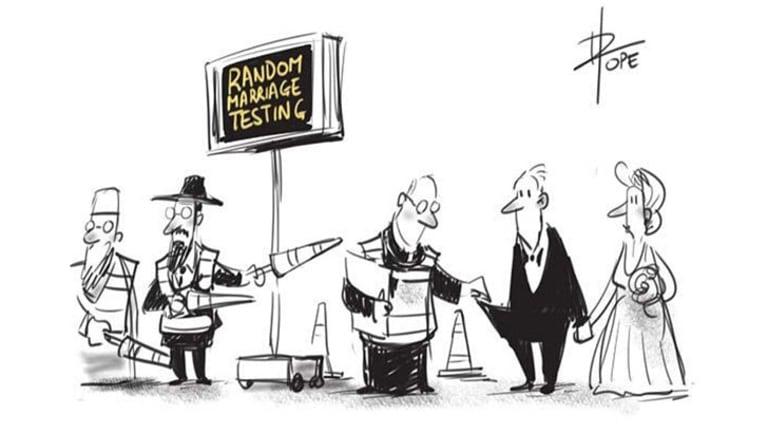 Editorial cartoon by David Pope. October 22, 2013.