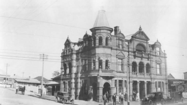 The Broadway Hotel cira 1929.