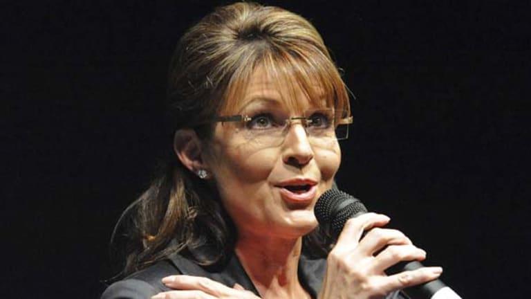 Outspoken ... Sarah Palin.