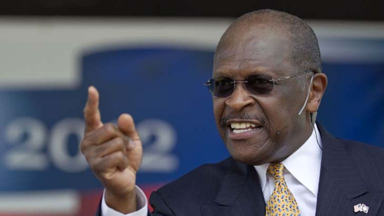 Herman Cain announces his run for Republican candidate for president.