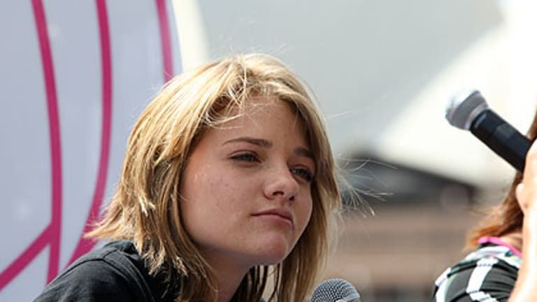 Solo sailor Jessica Watson can expect to be the centre of attention when she gets home.