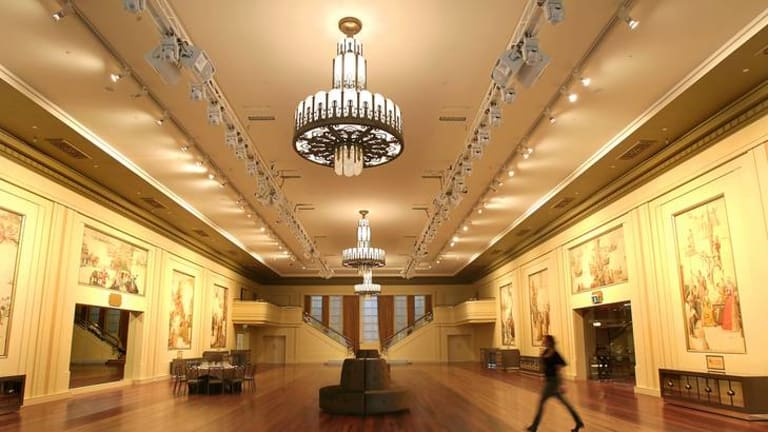 The revamped Myer Mural Hall will be open to the public as part of Melbourne's 'Open Houses' weekend.