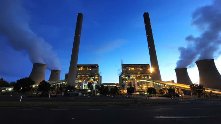 Loy Yang coal-fired power station in the Latrobe Valley.