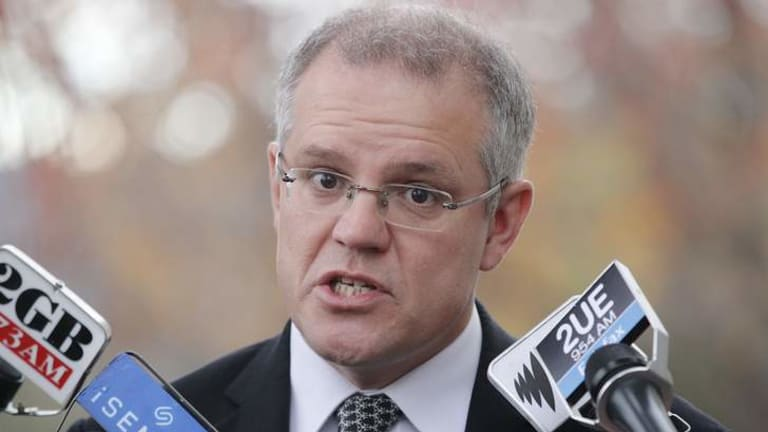 Immigration and Border Protection Minister Scott Morrison calls a 'spade a spade'.