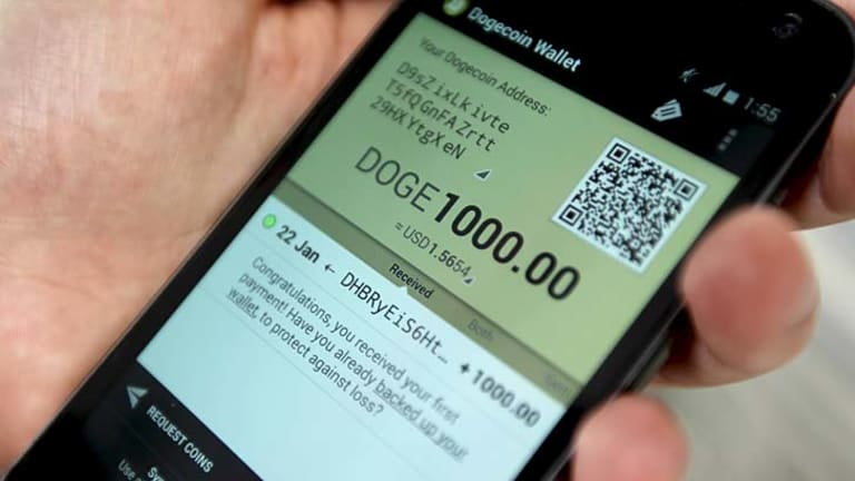 The dogecoin market has become a networked, self-regulating, peer-to-peer community.