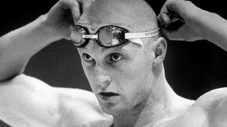 Neil Brooks at the 1986 Commonwealth Games held in Edinburgh, Scotland.