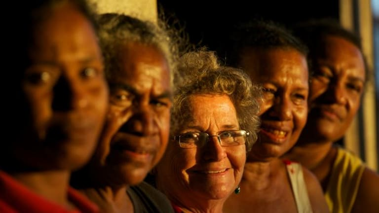 Dame Carol Kidu, PNG's sole elected woman in Parliament, sponsored the Women's Bill.