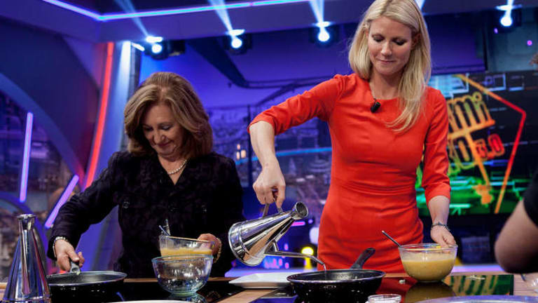 Gwyneth Paltrow adds a splash of radiance to a Spanish TV show.