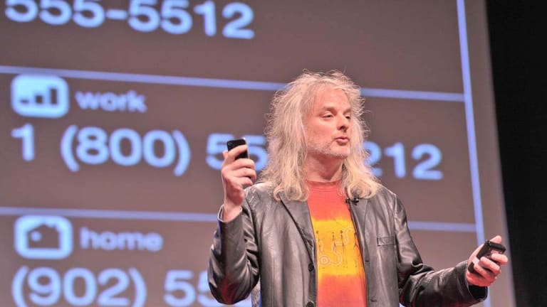 Professor David Chalmers during his talk at TEDxSydney.