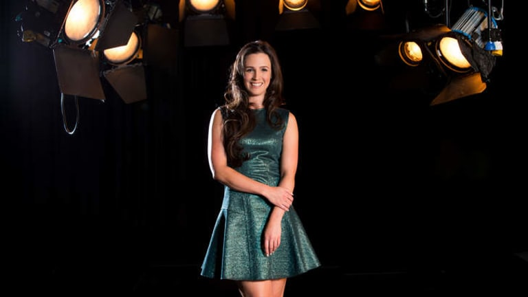 Debut ... Lucy Zelic will kick off as host of <i>Thursday FC</i> on SBS2 this week.
