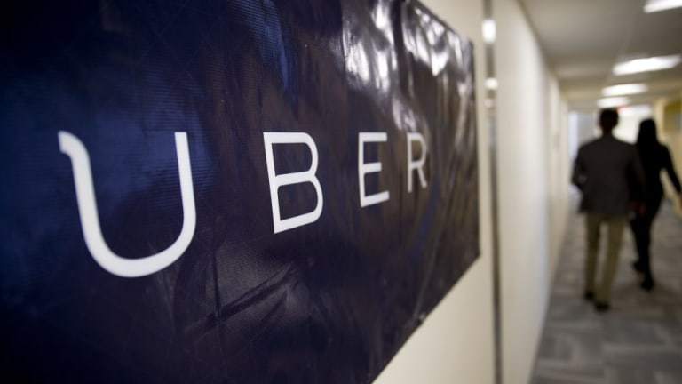 Fined: Uber says it will pay the penalties of more than 30 drivers fined by the Victorian government.